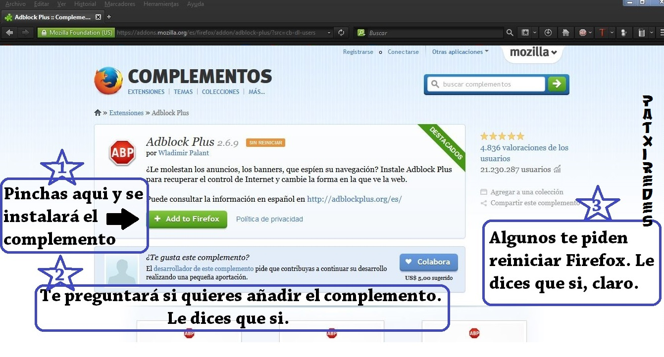 Descargar videos con Firefox y la ayuda de DownloadHelper. | Patxiredes